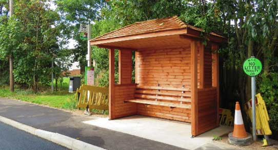 Bus Stop Shelter Plans : News august