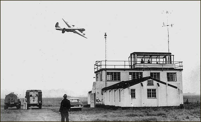Last modified Shackleton and Control Tower in 1968