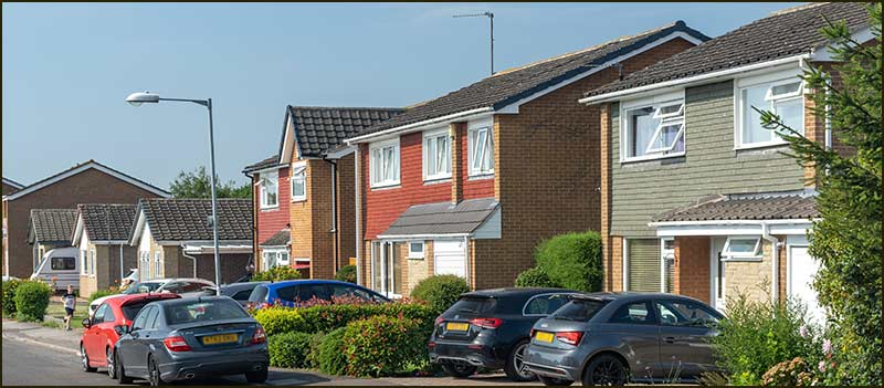 Hoe View Road houses