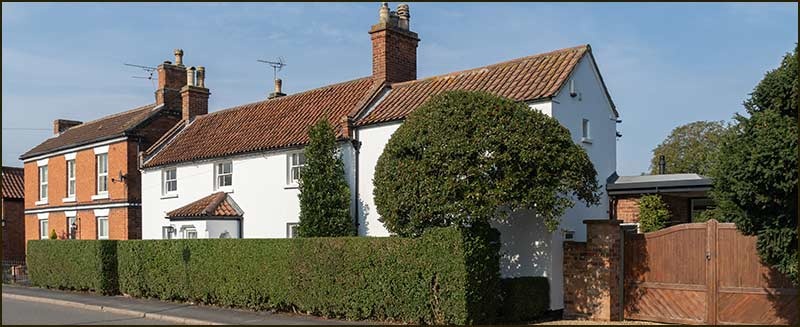 Number 61, the house known as 'The Cottage when Michael Thurlby lived there