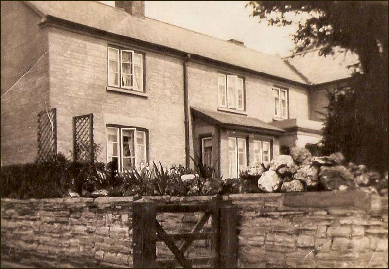 Old picture of The Yews farmhouse