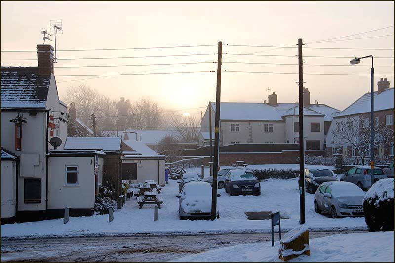 Chequers under snow (2012)