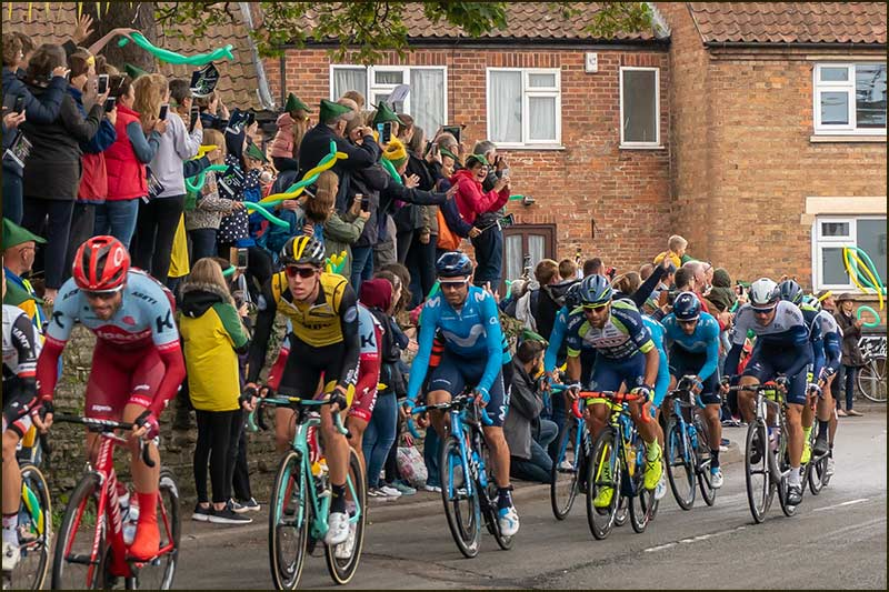 The Tour of Britain comes to Cropwell Bishop (8th September 2018)