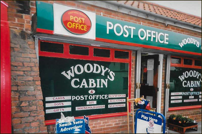 Cabin shop and Post Office (1999)